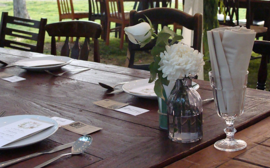 Exquisite Farm Dinner With Rustic & Blue