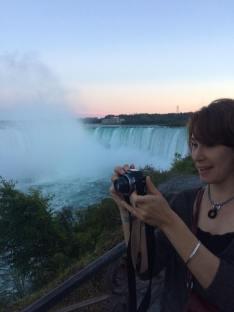 Ashley at Niagara Falls