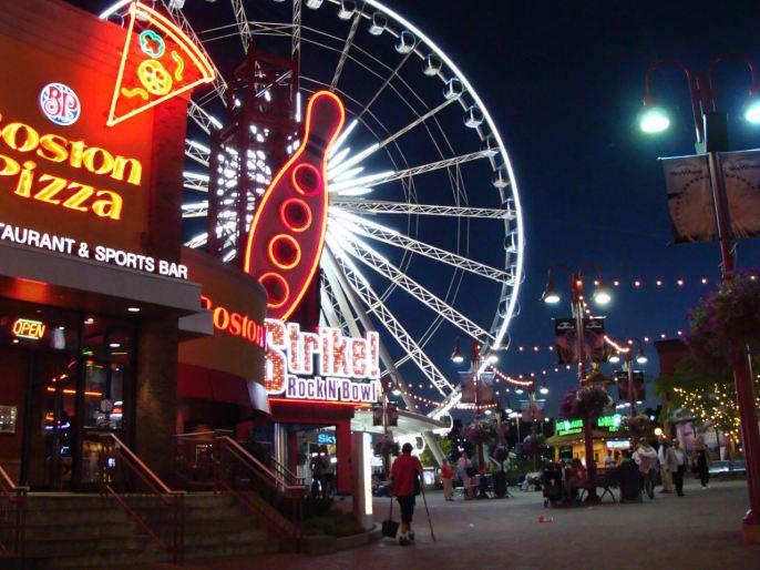 Niagara Falls nightlife
