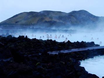 Blue Lagoon establishing shot