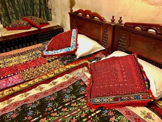 Just look at all that Jerusalem Hotel tapestry style!