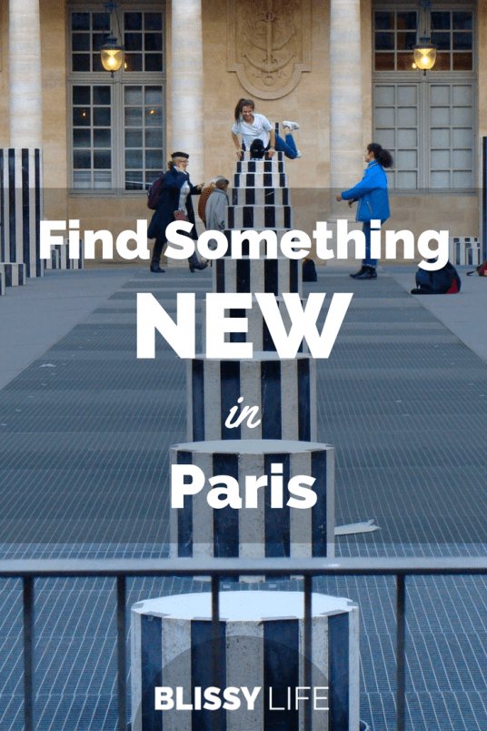 Find Something NEW in Paris