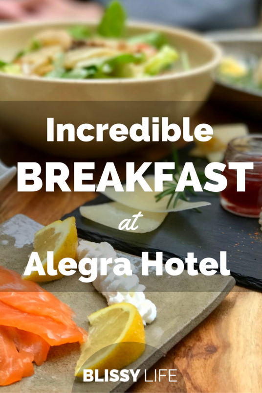 Incredible BREAKFAST at Alegra Hotel