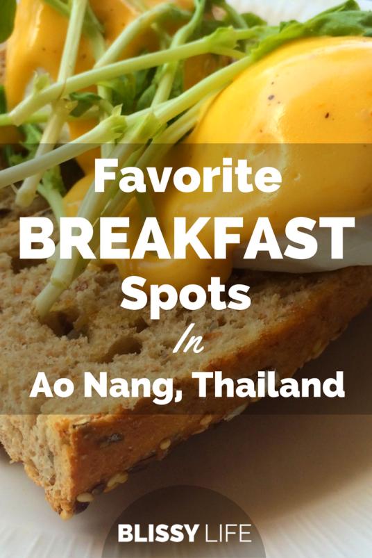 Favorite BREAKFAST Spots In Ao Nang, Thailand