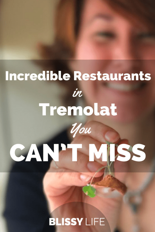 Incredible Restaurants in Tremolat You CAN'T Miss