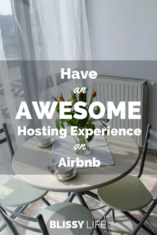 Have an AWESOME Hosting Experience on Airbnb