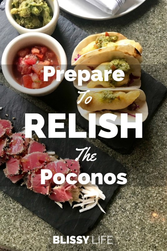 Prepare To RELISH The Poconos