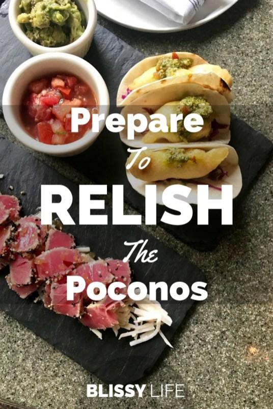 Prepare To RELISH The Poconos