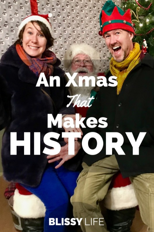 An Xmas That Makes HISTORY