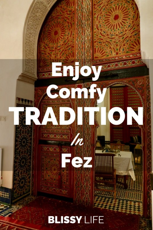 Enjoy Comfy TRADITION In Fez
