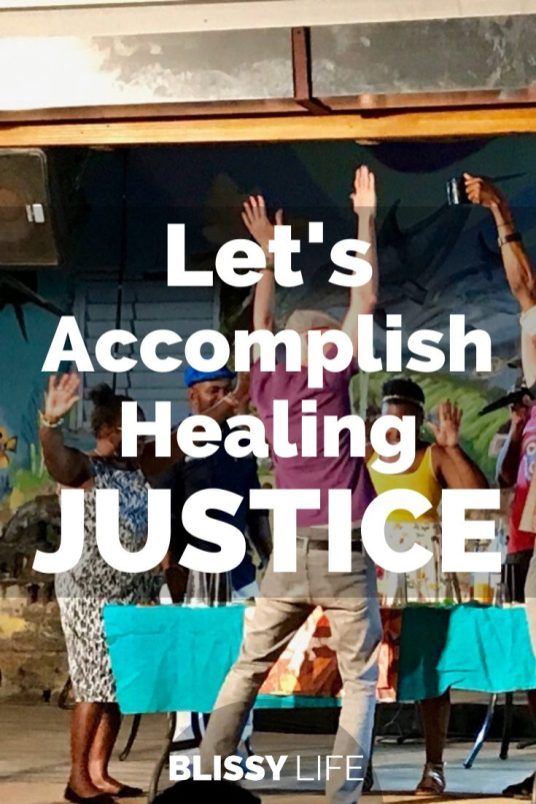 Let's Accomplish Healing JUSTICE
