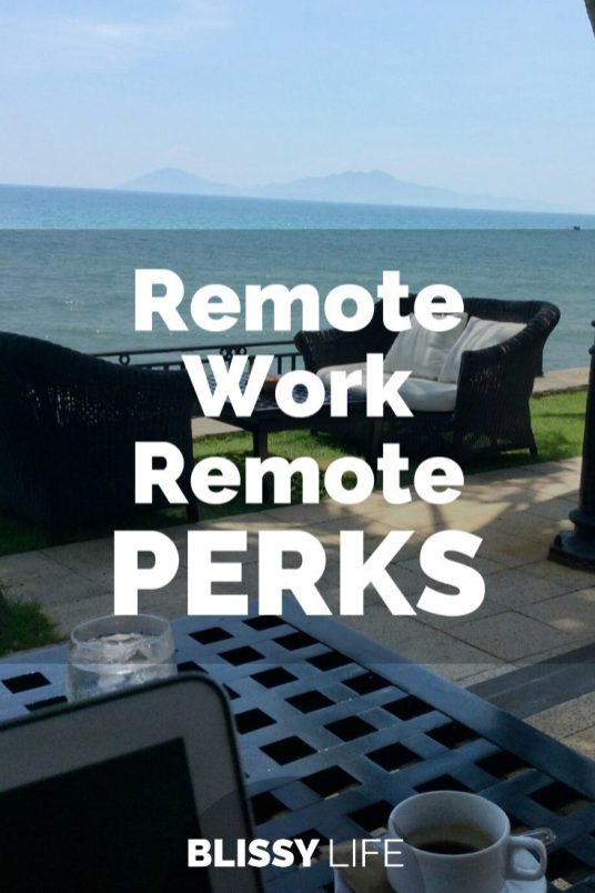 Remote Work Remote PERKS