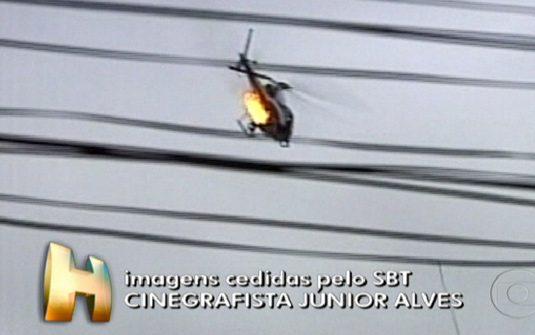 helicoptero abatido PM rio de janeiro