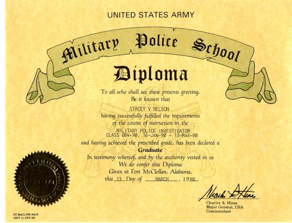 Diploma de PM investigador