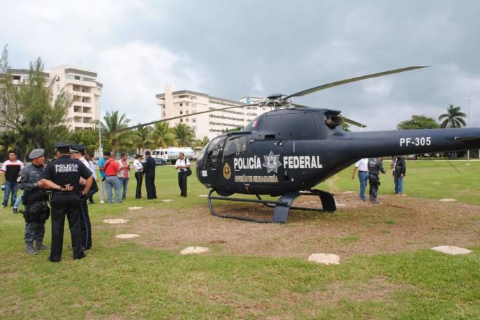 helicóptero gendarmeria mexicana