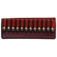 Porta munições, laços de couro só permitiam que uma munição fosse utilizada por vez.