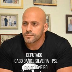 Deputado Cabo Daniel Silveira – PSL – Cabo da PMERJ