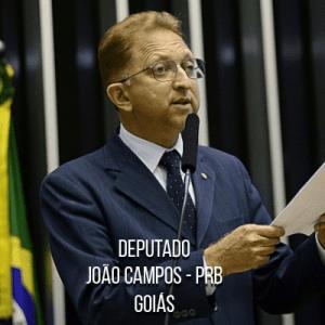 Deputado João Campos – PRB – Delegado da PCGO