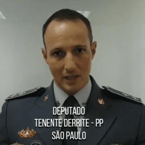 Deputado Tenente Derrite – PP – Capitão da PMESP