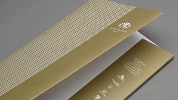 Mont Cervin Palace Dokumentenmappe im neuen CD by Werbeagentur Bern - Blitz & Donner