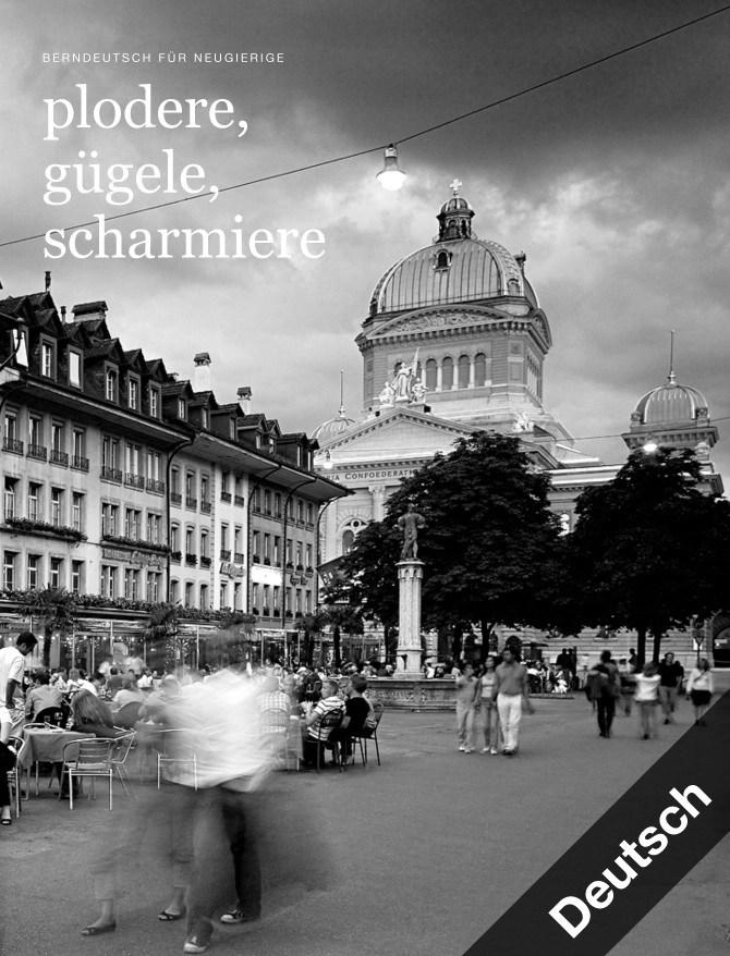 iBook Berndeutsch by Werbeagentur Bern - Blitz & Donner