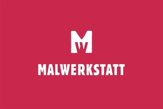 Malwerkstatt Bern Himbeer Visitenkarte von Werbeagentur Bern - Blitz & Donner