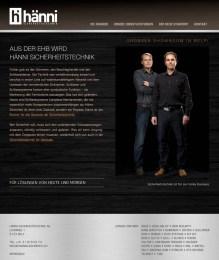 Website Hänni-Sicherheit