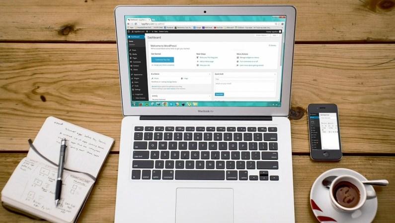 WordPress tager mere end fem minutter
