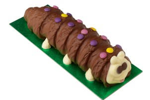 Caterpillar cake from Marks & Spencers