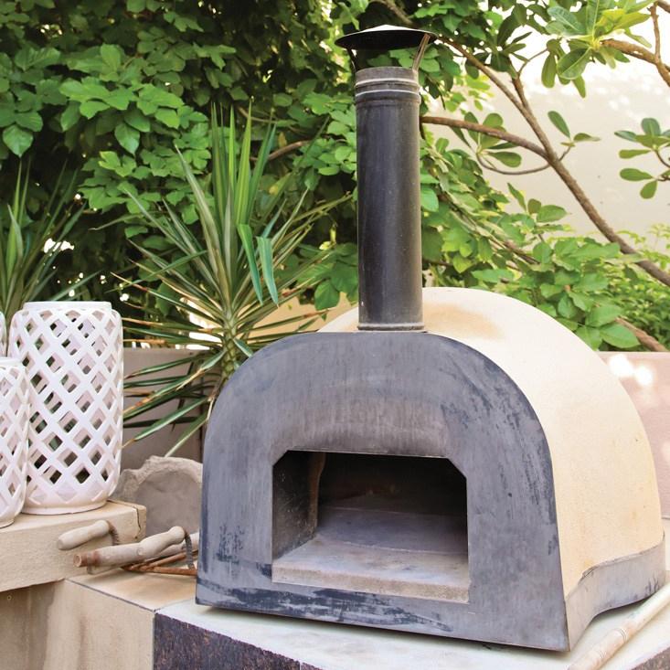 Jamie Olivers wood fire oven formDubai Garden Centre
