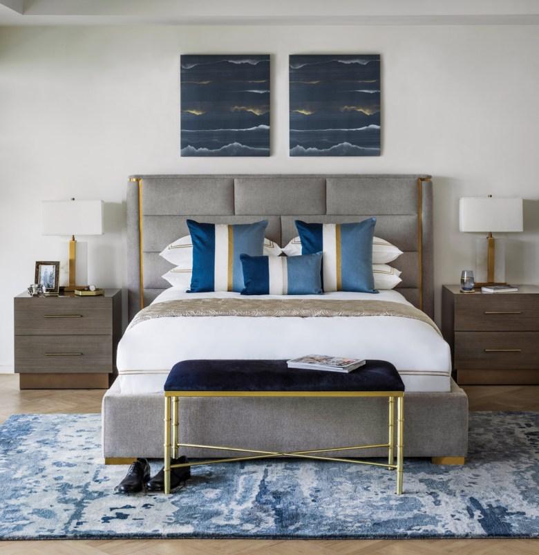 bedroom luxury beddings jewel tones