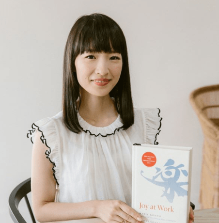 Marie Kondo new book Joy at Work