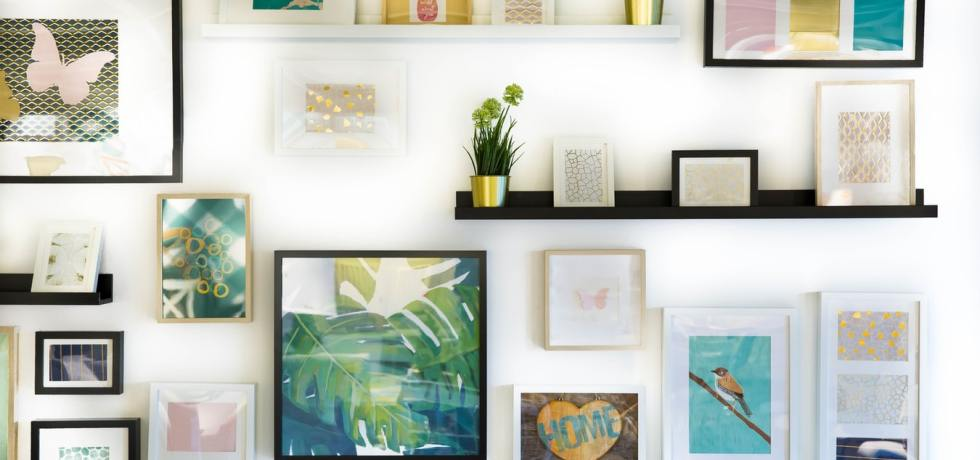 wall art framed