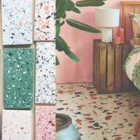 terrazzo tiles floor