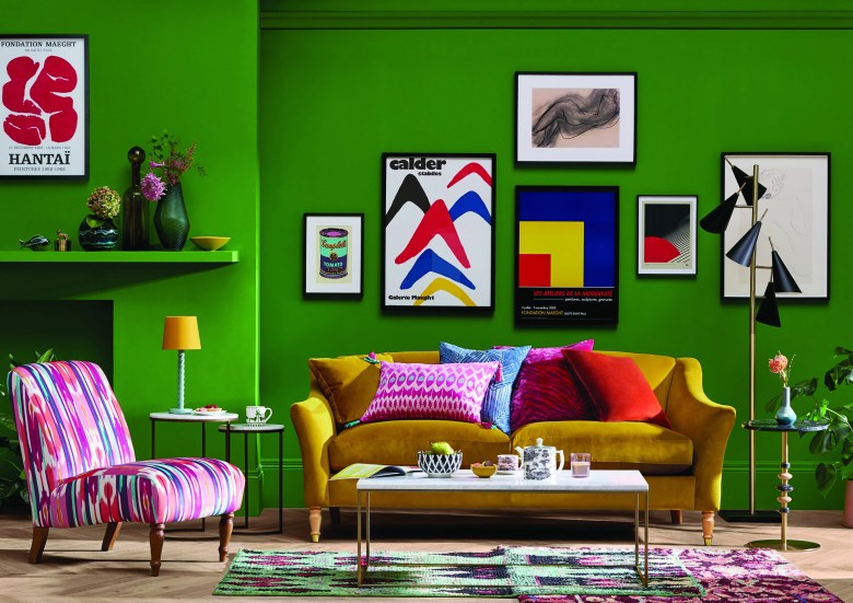 Eclectic living room by John Lewis