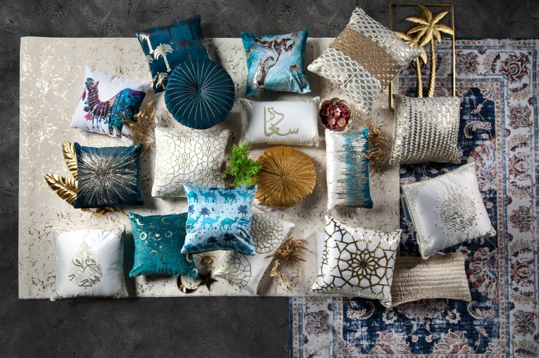 Homebox Ramadan 2021 collection throw pillows