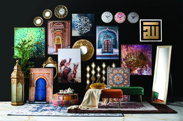 Homebox Ramadan 2021 collection wall art