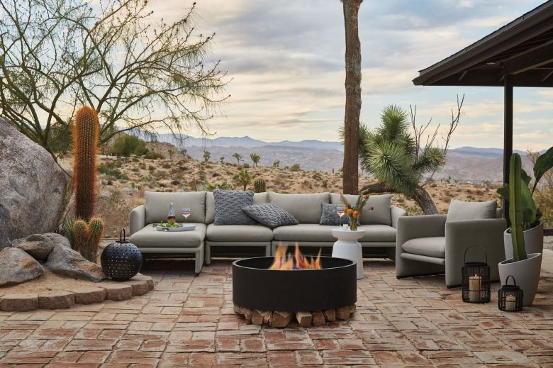 Zumba Collection of outdoor furniture for Crate and Barrel