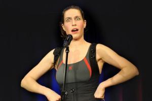 Christine Prayo, bekannt als Birthe Schneider in der ZDF Heute-Show, kommt in die Mälze Foto: Alte Mälzerei