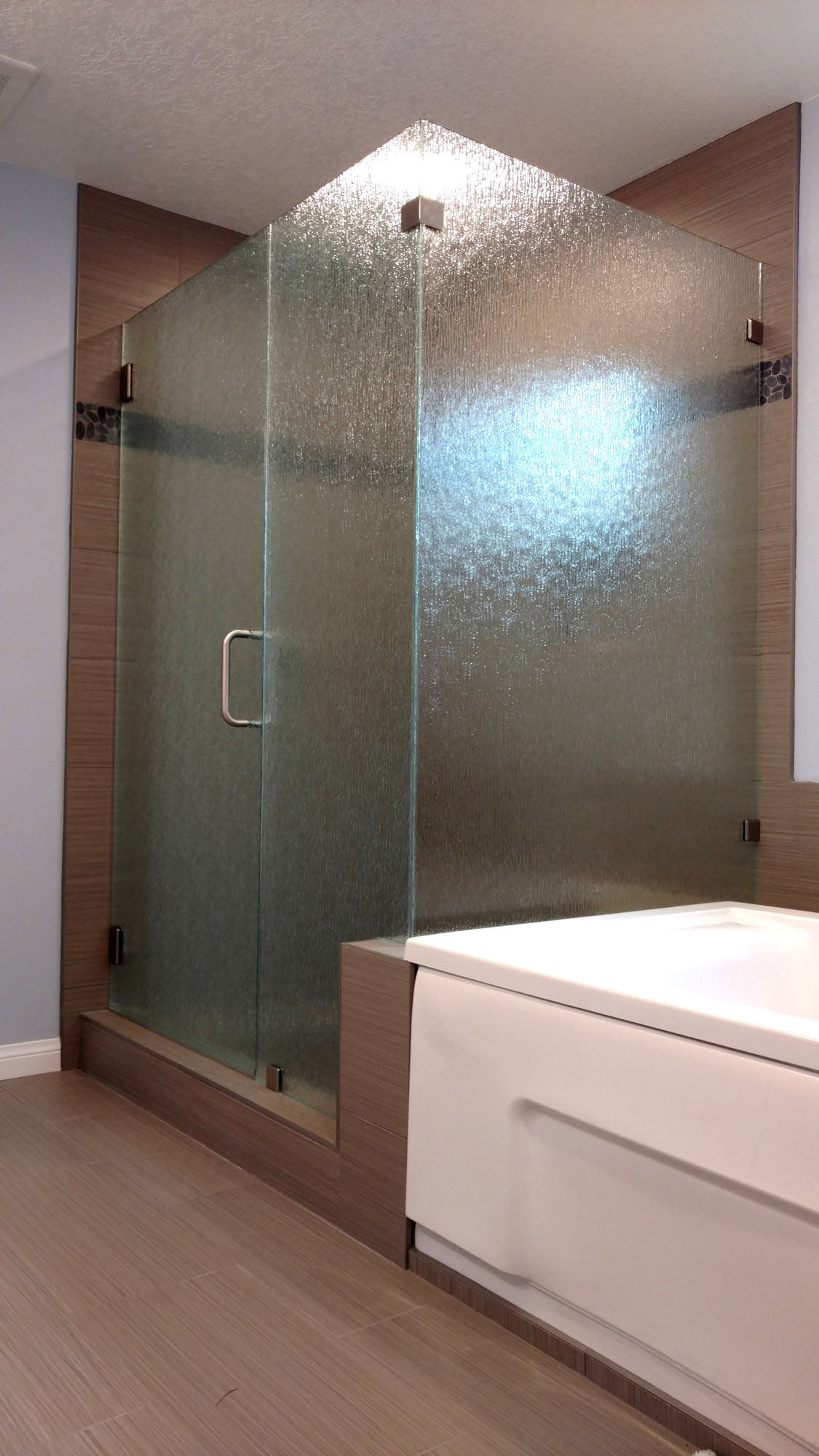 90 Degree Shower Door Gallery Blizzard Frameless