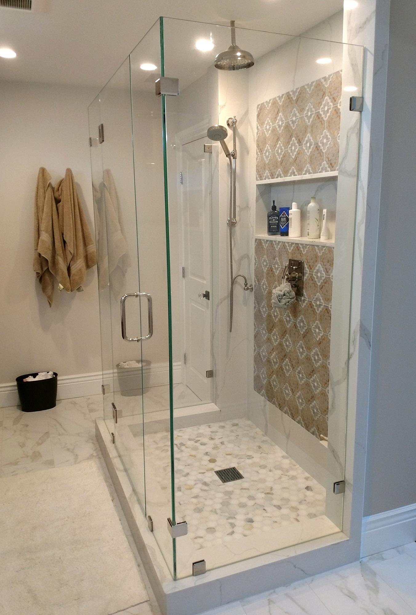 Custom Shower Door Gallery – Blizzard Frameless