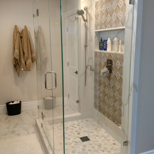 Custom Dual 90 Degree By Blizzard Frameless Showers