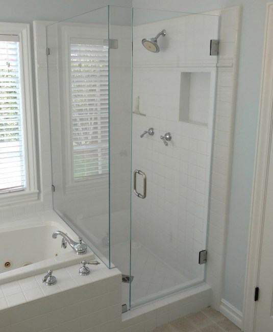 Home Slide 90 Degree By Blizzard Frameless Showers