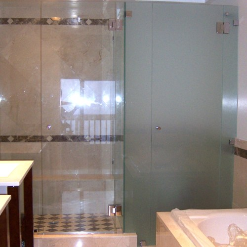 Inline Glass To Glass 8 By Blizzard Frameless Showers