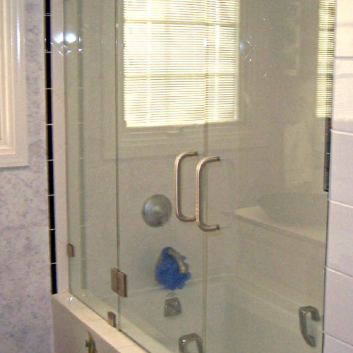 Inline With Tub 7 By Blizzard Frameless Showers