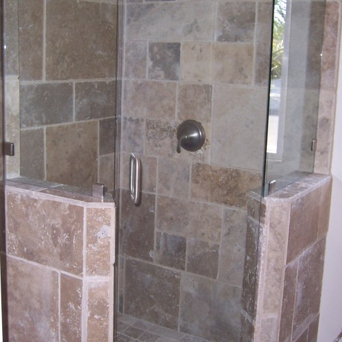 Neo Angle 14 With Half Walls By Blizzard Frameless Showers