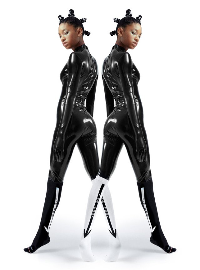 Willow Smith Stance
