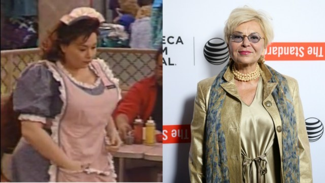 Roseanne Barr breast reduction