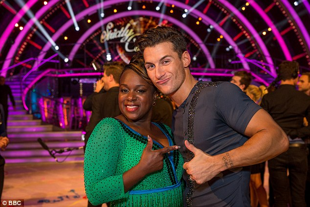Partners: Gorka was partnered with EastEnders star Tameka Empson, 39, on Strictly but the duo were eliminated after the third week
