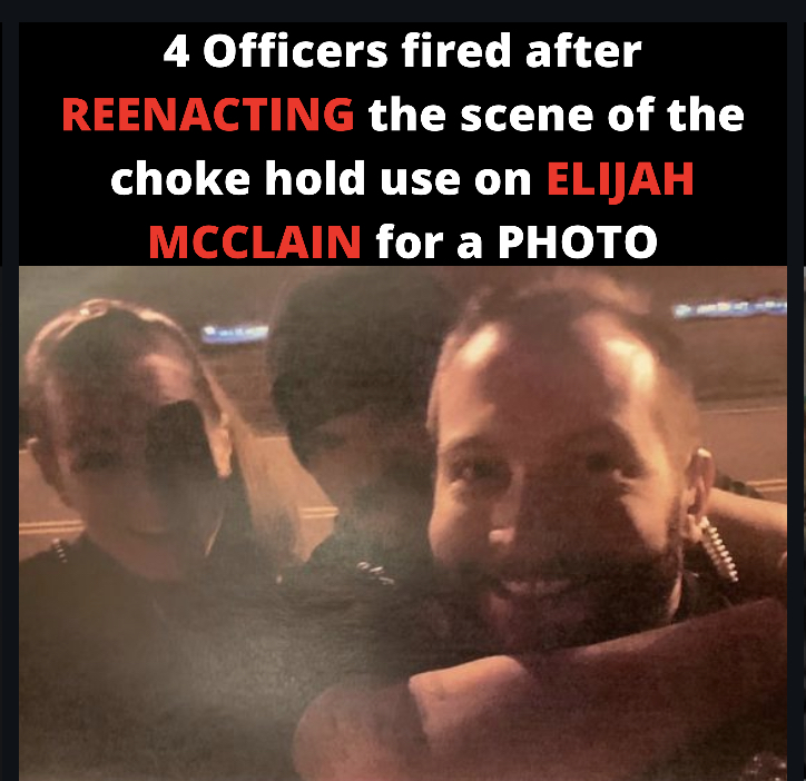 Former Aurora Police Officers Recreate Choke hold of Elijah McClain